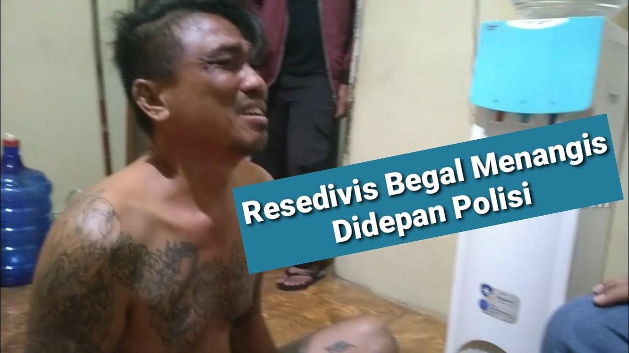 """Download Berniat Kabur, Dorr..!! Resedivis """"Begal"""" Jln Ujung Mampir di RS Bhayangkara Makassar"""