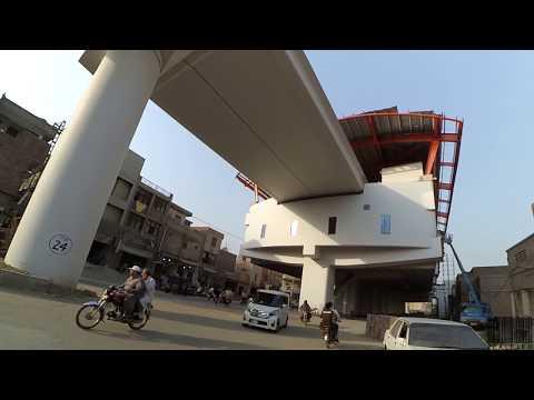 [Vlog] Metro Train Orange Line Part 3/4 | 05/May/2018 | Lahore