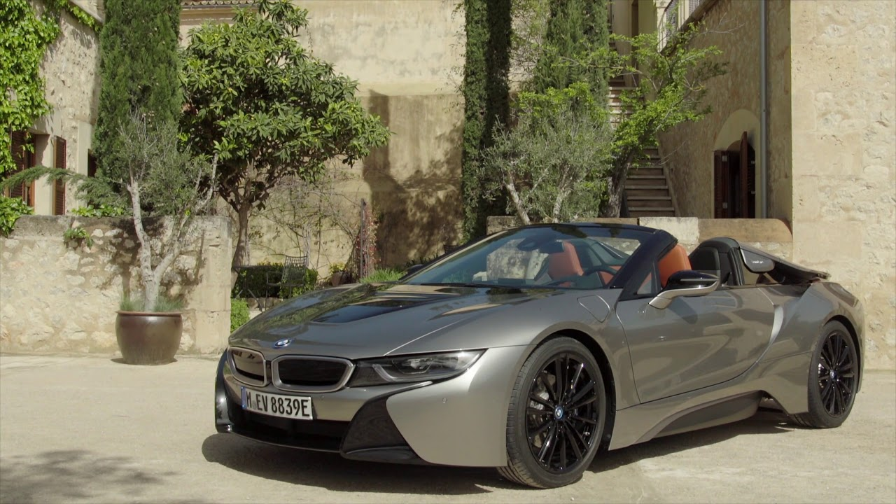 Bmw I8 Roadster In Donington Grey Youtube