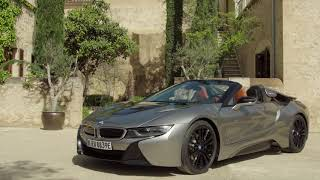 BMW i8 Roadster in Donington Grey