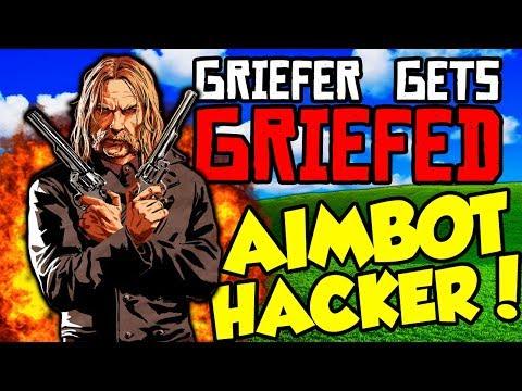 GRIEFING HACKER vs POSSE in Red Dead Online! Griefer Gets Griefed Ep 2 (RDR2 Online)