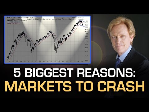 5 Reasons Stock Market TO CRASH, Gold & Silver Price To SOAR – Mike Maloney