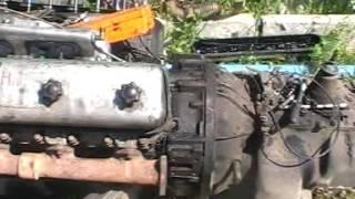 замена двигателя ЯМЗ238 на америке