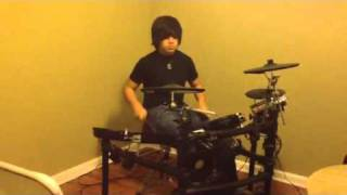 Underoath drum cover Coming Down is Calming Down / Desperate Times Desperate Mea