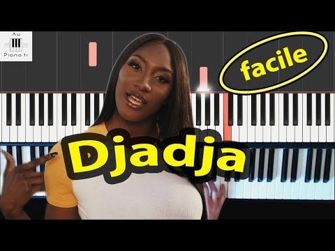 Aya Nakamura - Djadja - Piano Tuto facile