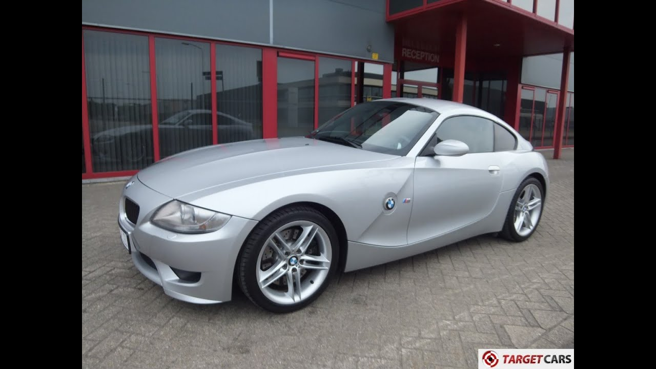 750360 BMW Z4M M COUPE 3.2L 343HP S54 M-COUPE 07-06 SILVER 123872KM ...