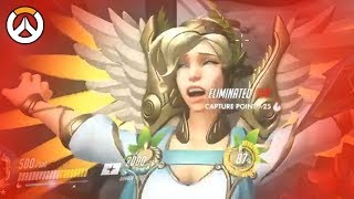 OVERWATCH ► FUNNIES, FAILS & CRAZY MOMENTS #76