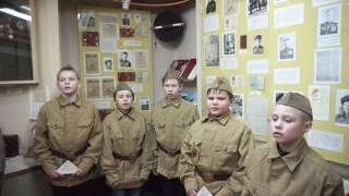 Военные песни голосами детей.
