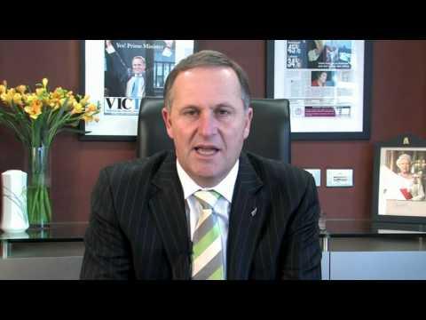 The Right Honorable John Key MP