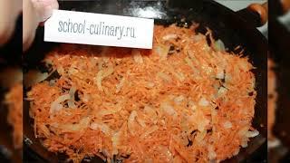 Скумбрия запеченная с морковью и луком рецепт - school-culinary.ru