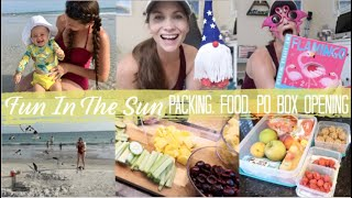 Summer Fun!  Let's Go To The Beach, Prepping Food, P.O. Box Opening, & Hang Out With Me!
