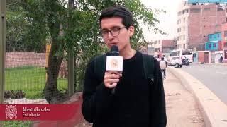 Tema: La UNMSM exige a candidatos a la alcaldía de Lima dar soluciones a cerco perimétrico.
