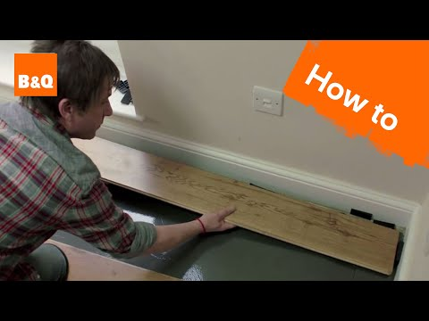 How to lay flooring part 4: laying tongue & groove solid wood