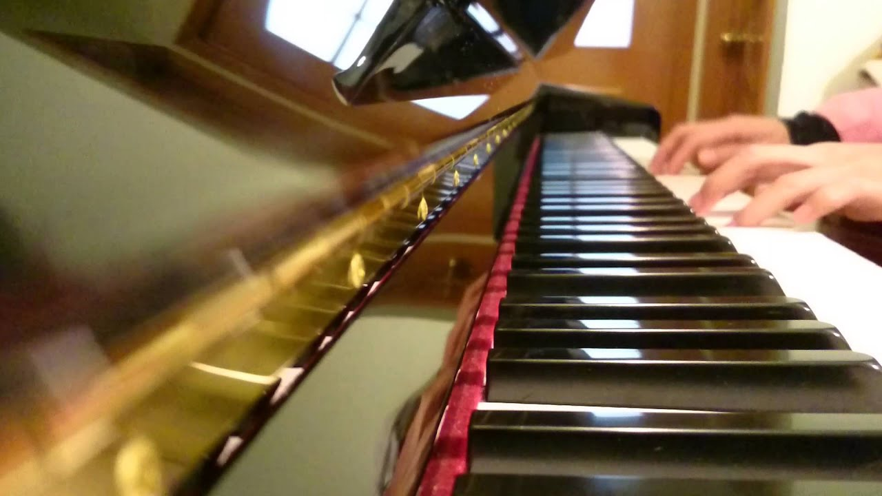 Stephen Foster Jeanie With The Light Brown Hair Piano Youtube