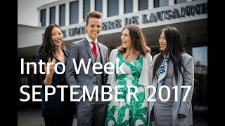 EHL Intro Week September 2017