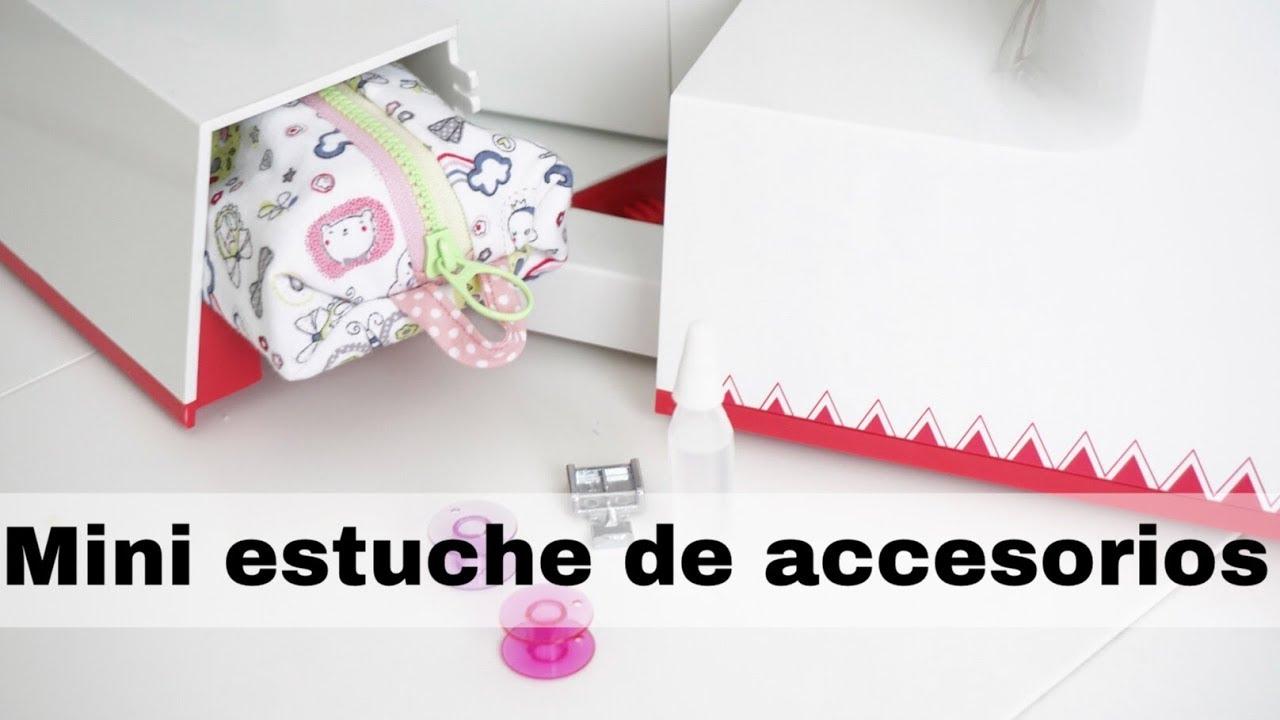 DIY Costura Mini estuche para los accesorios de la máquina de coser ...