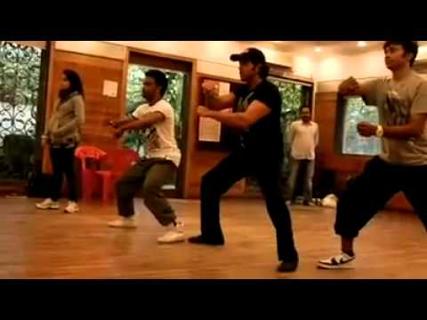 Dharmesh Sir and Hrithik Roshan Dancing togather