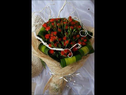 Cách bó hoa hồng tiểu muội cực đơn giản cho bạn