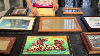 DIY Decor: Picture Frame Collage Video