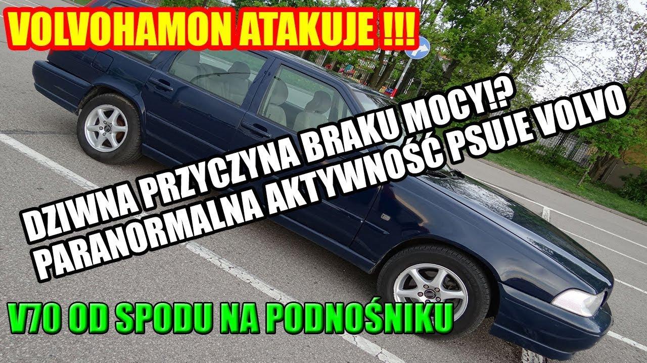 BRUDNY DYSK TWARDY, OD SPODU VOLVO V70 2.5TDI, VOLVOHAMON ATAKUJE, DIAGNOSTYKA HAMULCÓW SWIFT