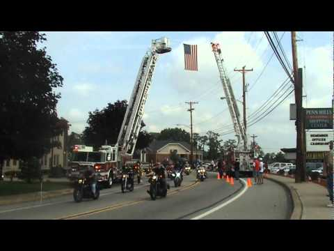 The Ride to Remember In Honor of Fallen Penn Hills Police Officer Michael Crawshaw