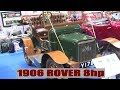Rover 8hp 1906 NEC Restoration Show 2018