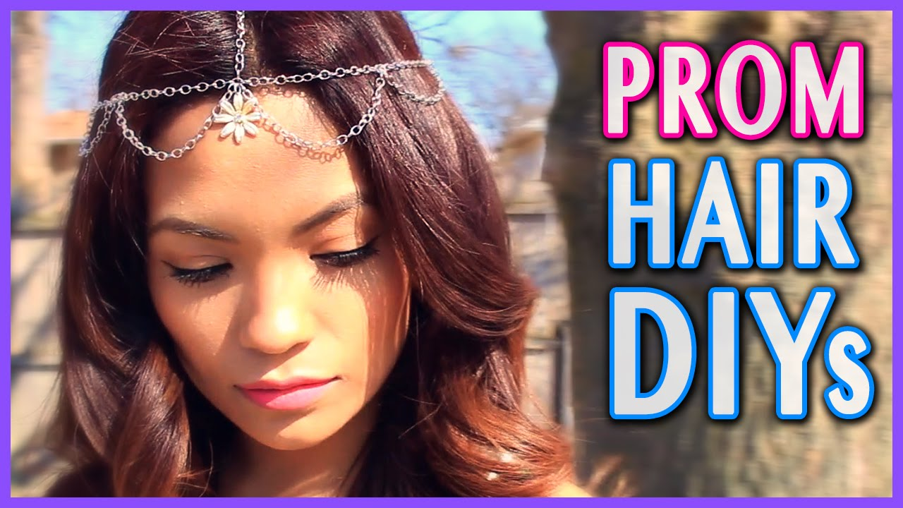 diy prom hair accessories