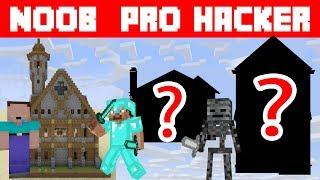 Школа монстров: построение школы NOOB VS PRO VS HSCKER - Школа монстров
