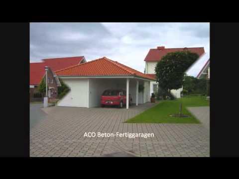 Beton Garage Prefab : Garagen fertiggaragen betonfertiggaragen betongarage garage youtube
