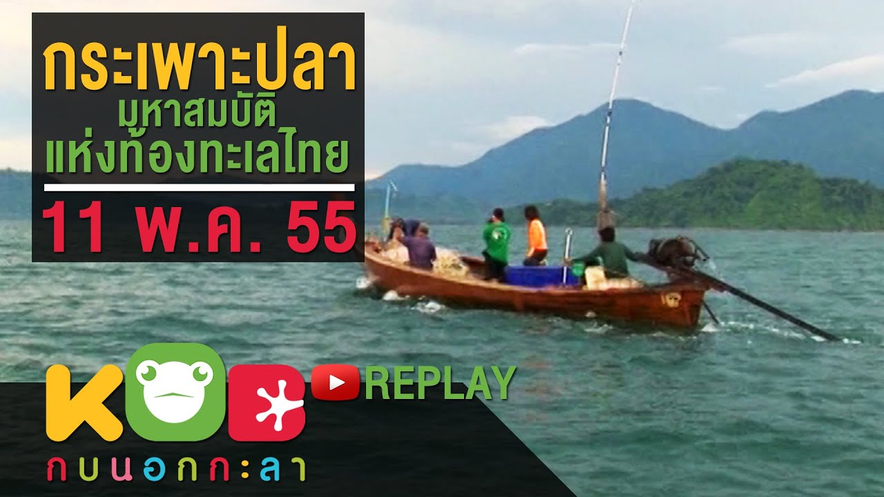 กบนอกกะลา REPLAY :  กระเพาะปลา มหาสมบัติแห่งท้องทะเลไทย ช่วงที่ 3/4 (11 พ.ค.55)