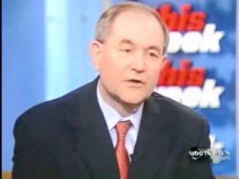 "Gov. Jim Gilmore appears on ""This Week"" (5/27/07)"