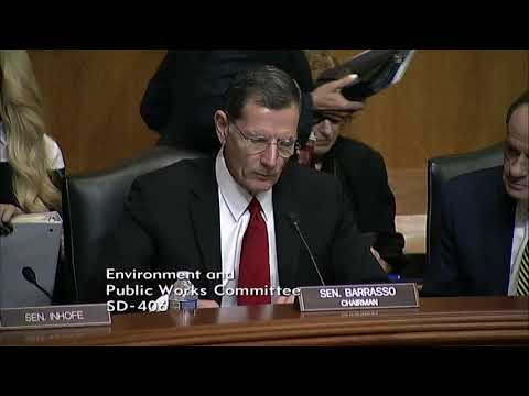 Barrasso Opening Statement at Nomination Hearing