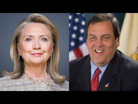 2016 Presidential Race - Chris Christie and Hillary Clinton - US Politics