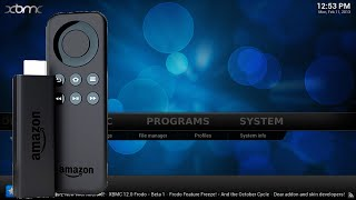 How to install XBMC on Amazon Fire TV Stick (with quick launch!) [60fps]