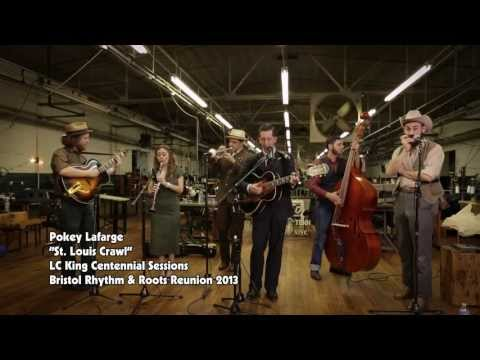 Pokey Lafarge - St. Louis Crawl (Live @ 2013 Bristol Rhythm & Roots Reunion)