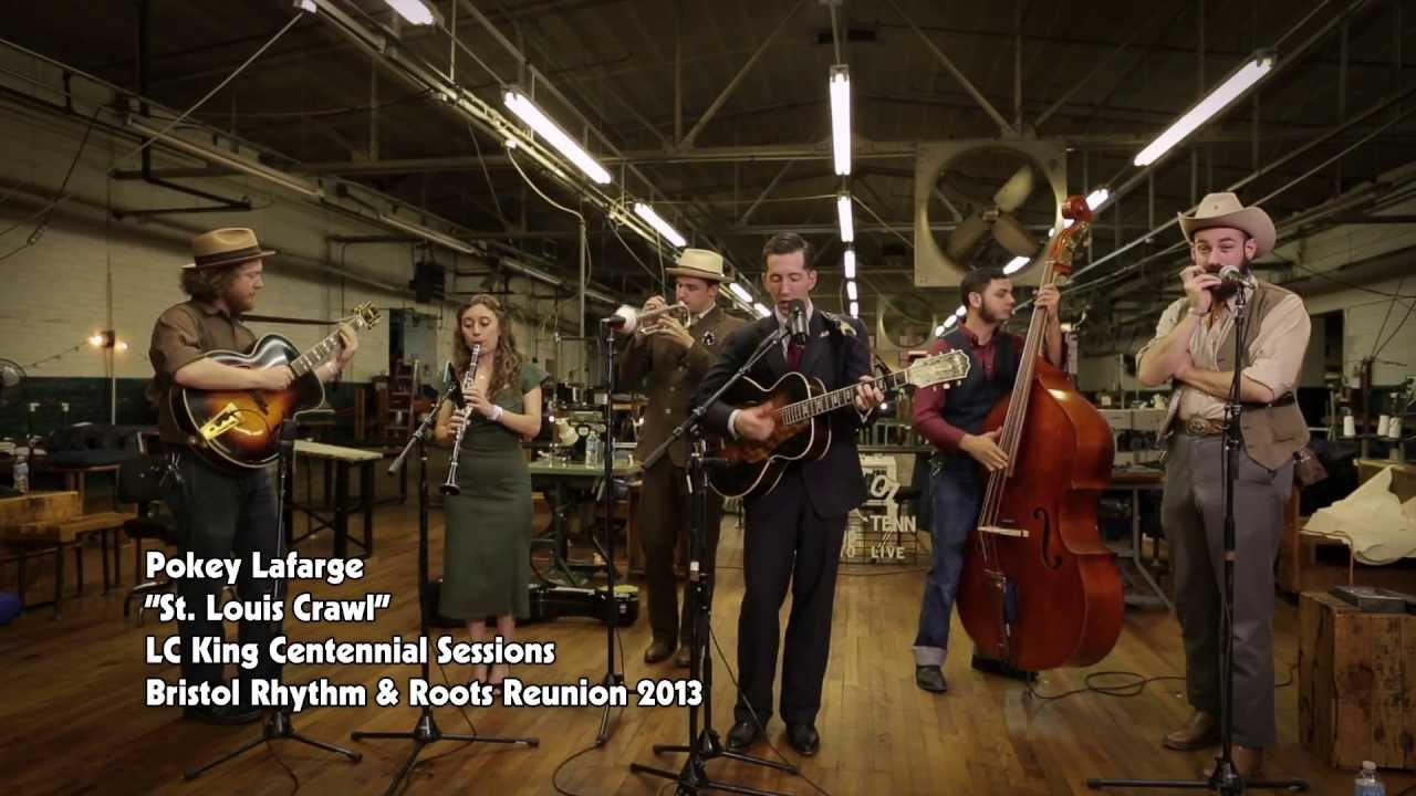 Pokey Lafarge - St. Louis Crawl (Live @ 2013 Bristol Rhythm & Roots Reunion)