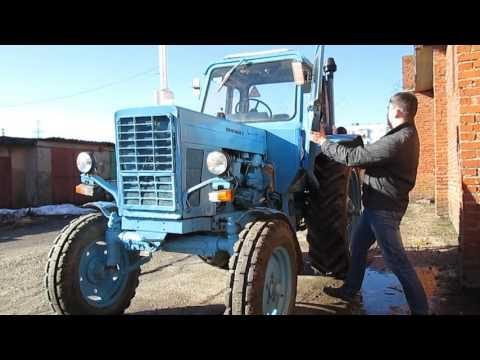 Видеоуроки по тракторам мтз 80