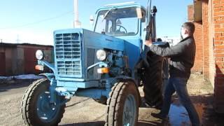 Обзор Трактора МТЗ-80 (полная версия)