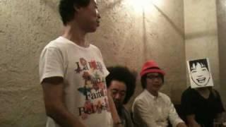 2010年7月1日 下北沢440 「呼人の部屋46」ビートルズ大会!の打ち上げ風...