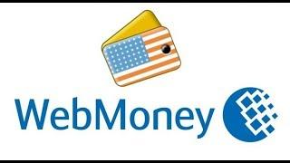 пРОСТАЯ регистрация ДОЛЛАРОВОГО кошелька WebMoney