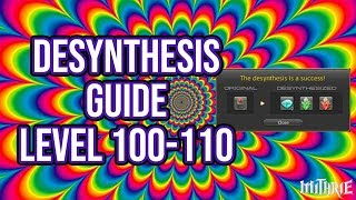 Ffxiv 2.5 0507 Desynthesis 100-110 Leveling Guide