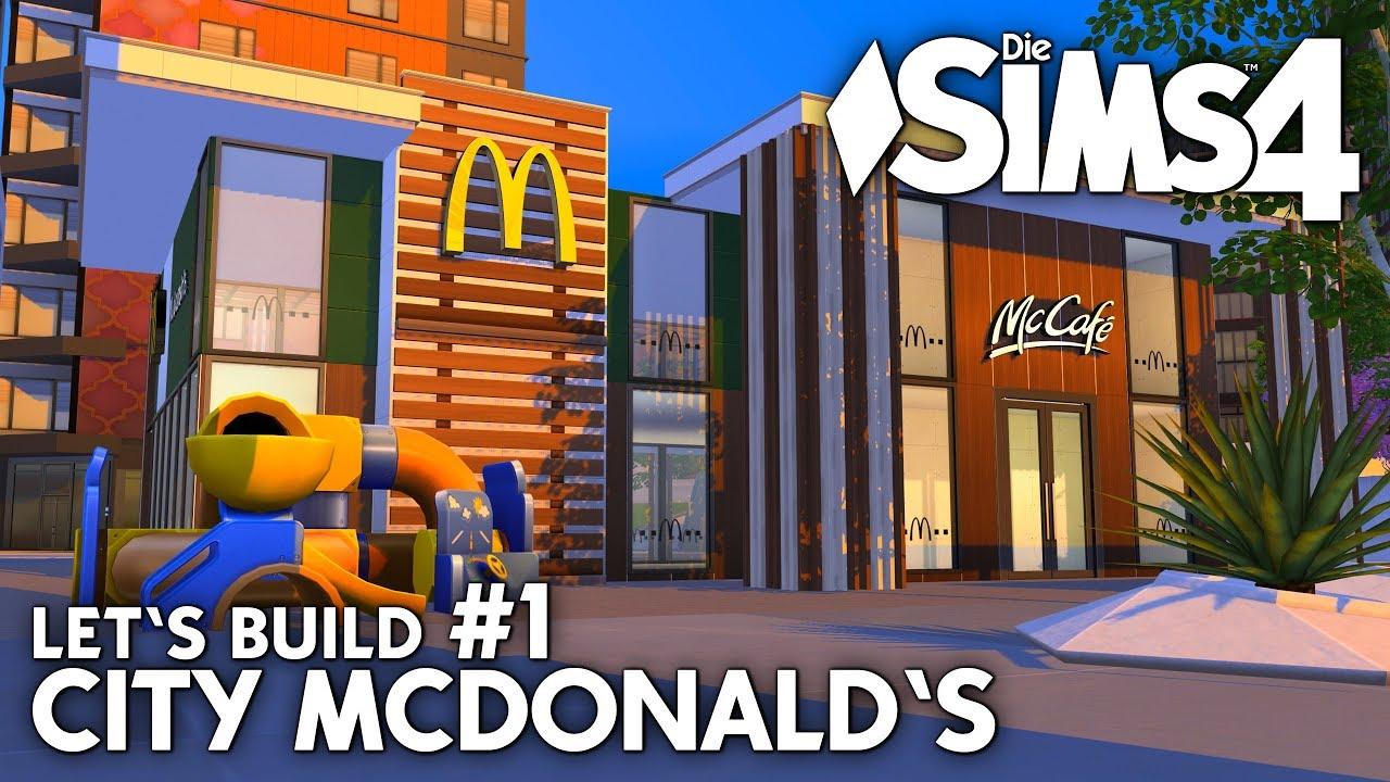 Die sims 4 gaumenfreuden release showcase restaurant gameplay pack - Mcdonald S Bauen 1 Die Sims 4 Let S Build Zum Restaurant In San Myshuno
