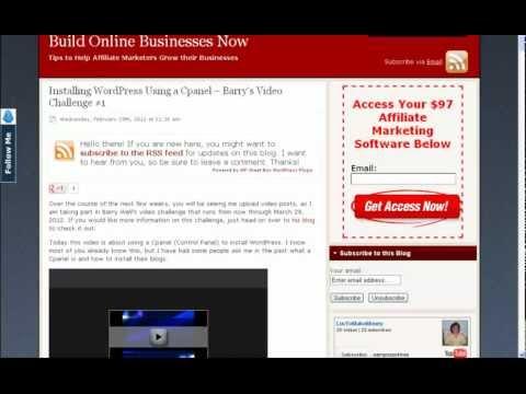 How to Convert Blogger Blog to Wordpress - YouTube