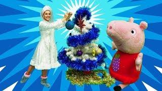 видео Свинка Пеппа игрушки