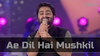 Download Mp3 Ae Dil Hai Mushkil - Mtv India Tour | Arijit Singh Live