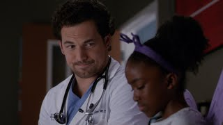 DeLuca Talks to Zola About Derek - Grey39s Anatomy