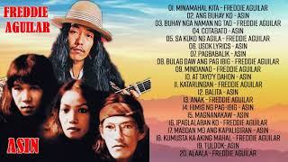 Freddie Aguilar, Asin tagalog Love Songs Of All Time - Asin, Freddie Aguilar Greatest Hits NON STOP