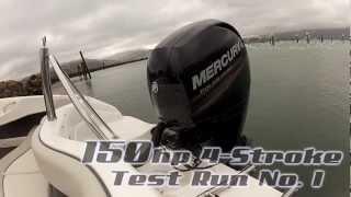 Rae Line 185 E Series - Mercury 150 4-Stroke Test Run No.1