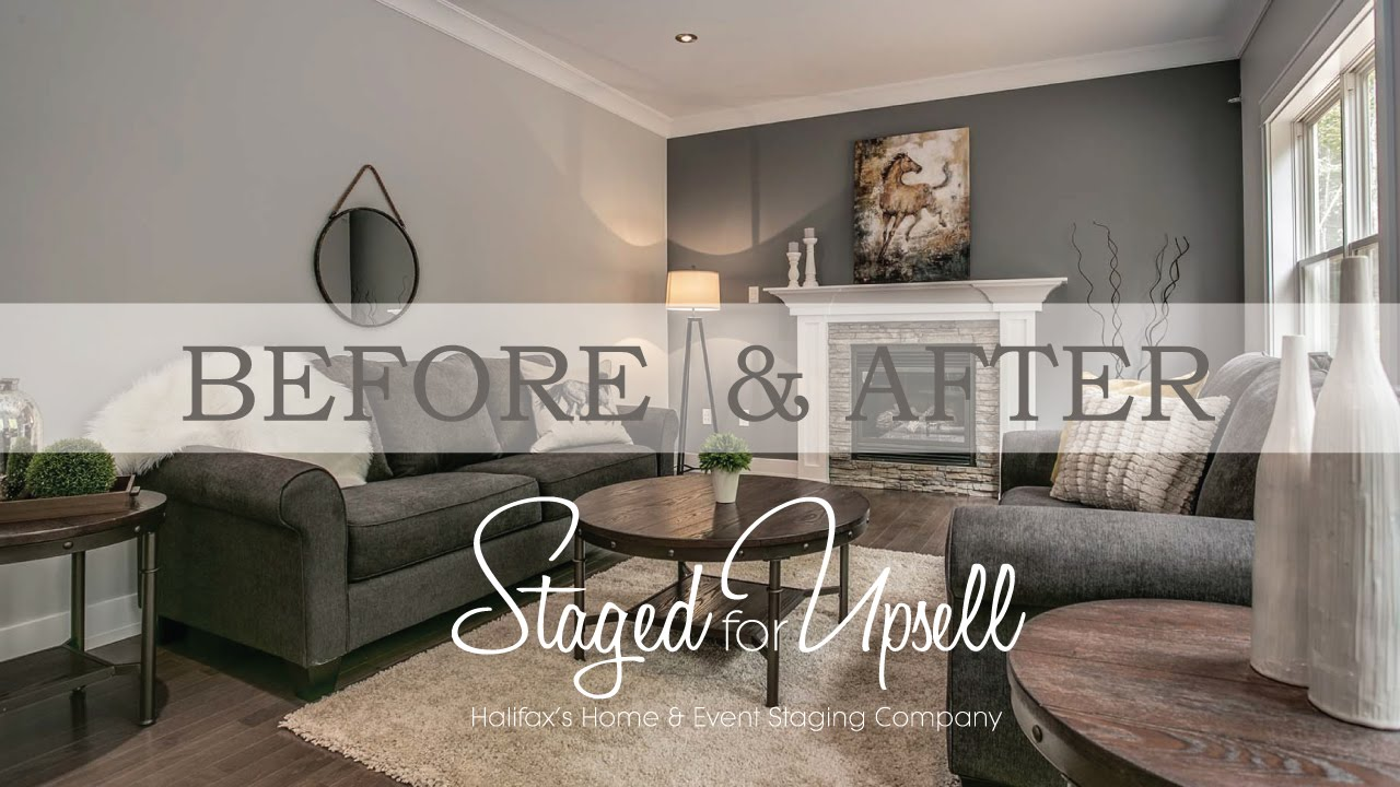Before And After Home Staging Staged For Upsell Youtube