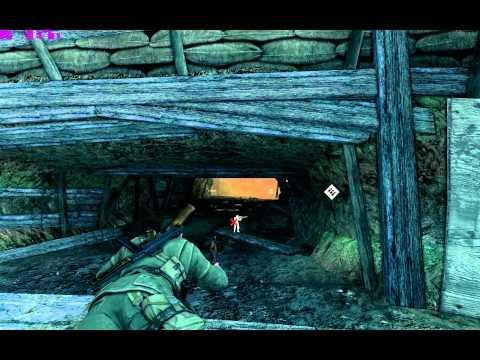 [HD] Sniper Elite V2 - Kopenick Launch Site - Sniper Elite Difficulty (1920x1200)